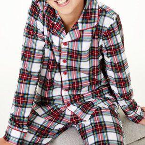 Family Pajamas Matching Kids Stewart Plaid PJ top